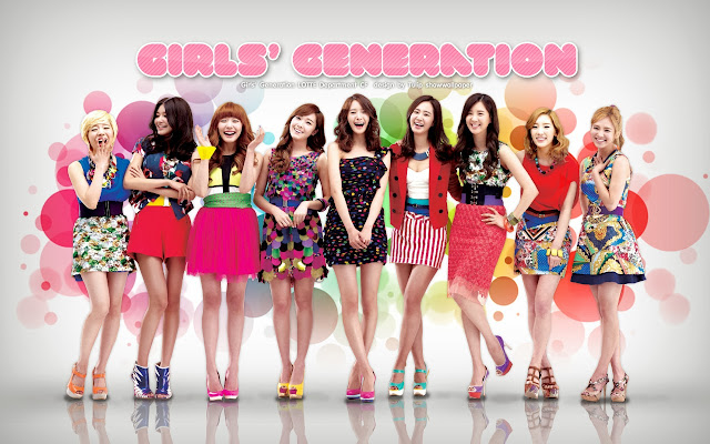 Lirik Lagu Galaxy Supernova ~ Girls' Generation