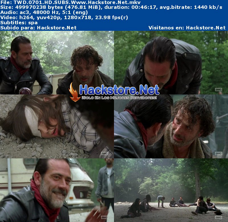 Capturas de The Walking Dead Séptima Temporada Subtitulado HD