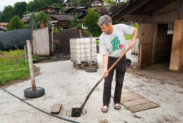Knospe-Bauer Niklaus Hari: «Eine Mikro-Biogasanlage leistet viel fürs Klima»