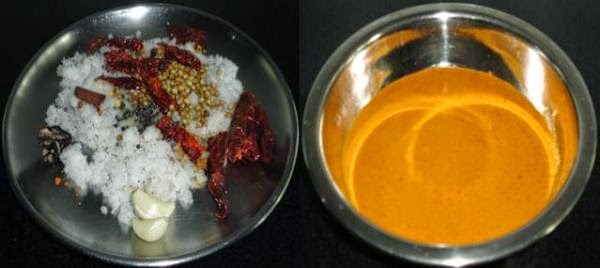 grind the masala paste