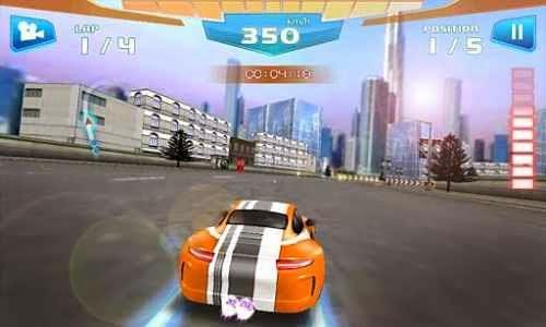 jogo de corrida para android Corrida Rápida 3D - Fast Racing para Android