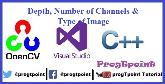 Tutorial 4 -Depth, No  of Channels & Type of Image OpenCV