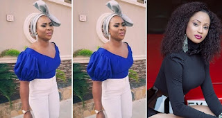 """""""I Will Marry A White Man Because I See Nigerian Men As Unfaithful"""" - Actress Sylvia Edem"""