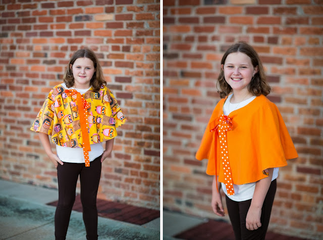 Free Cape Pattern and Tutorial. www.thecottagemama.com