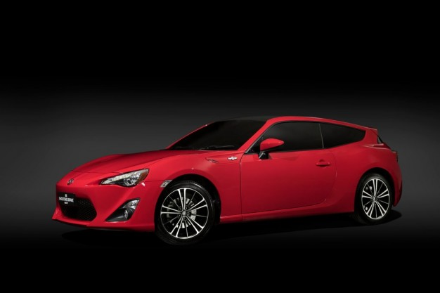 Yes, Give Us This Thing: Meet the Toyota 86 Shooting Brake Concept