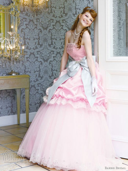 I K Yumitasari Gaun Pengantin Ala Barbie
