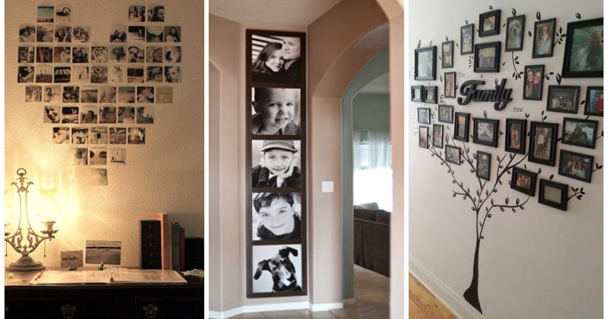 7 ideas fant sticas para decorar el hogar con fotograf as for Tips para decorar el hogar