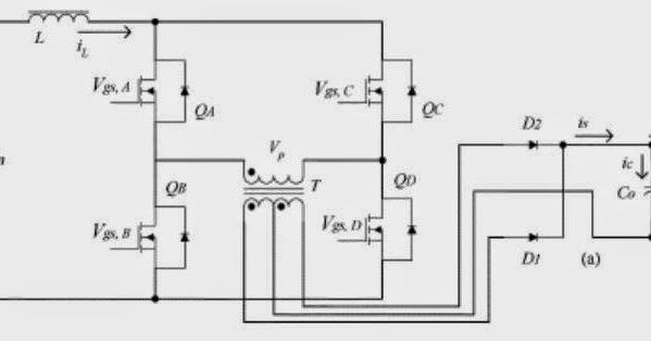 simple inductance bridge circuit diagram
