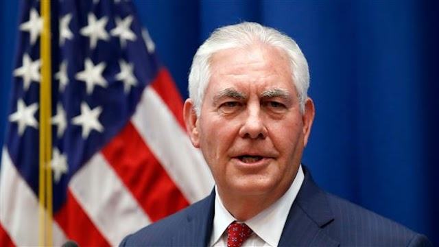 US Secretary of State Rex Tillerson calls Myanmar army chief over violence against Rohingya
