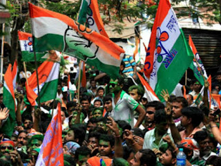 Trinamool Congress party flag