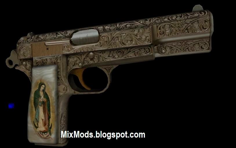 pistola multifuncional para gta san andreas