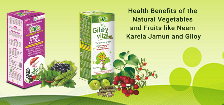Health Benefits of the Natural Vegetables and Fruits like