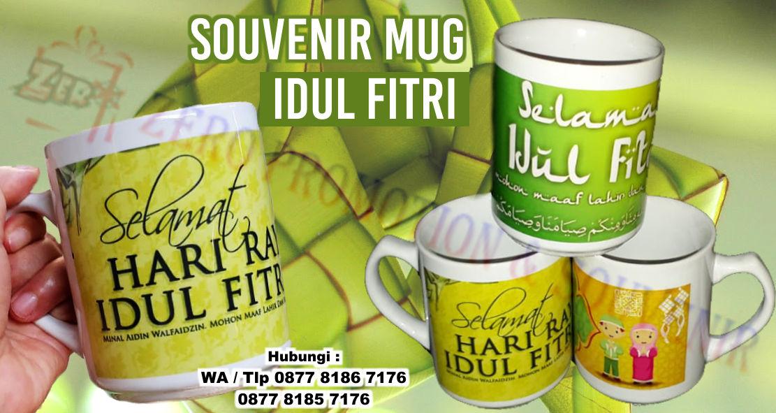 Souvenir Mug Idul Fitri Mug Edisi Lebaran Barang Promosi Mug