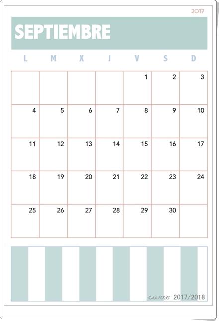 """""""Calendario 2017-2018"""""""