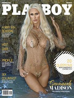 Playboy Australia - Noviembre 2018