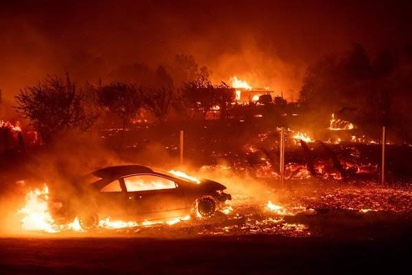 FOTOS: california esta viviendo un infierno total.