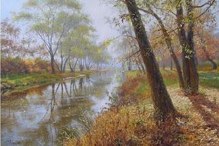 serenas-vistas-pinturas-realistas panoramas-tranquilos-pinturas