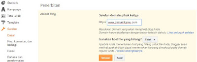 Cara Terbaru Mengganti Domain Blogspot Dengan Custom Domain Dari Namecheap
