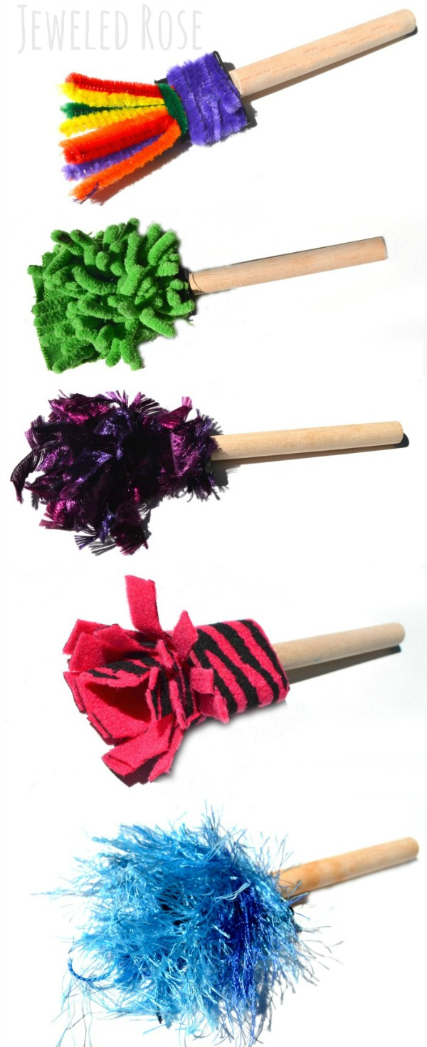 Homemade Paint Brushes | Growing A Jeweled Rose