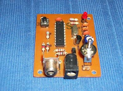 Generador de patrones NTSC construido.
