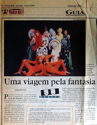 Jornal A Gazeta, 16/02/1997.