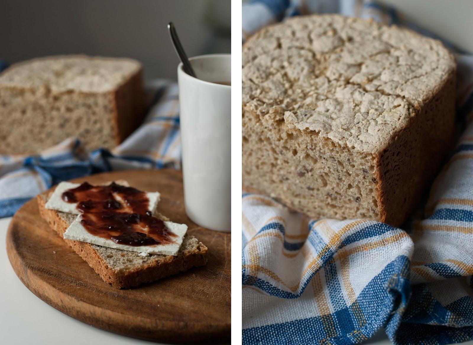 Łatwy chleb bezglutenowy bez mixu