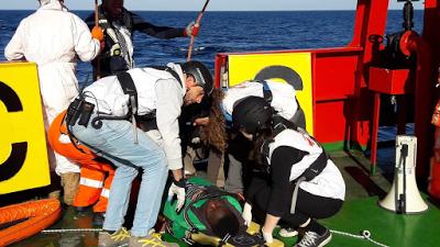 28 Europe-bound Nigerian migrants died on the Mediterranean sea