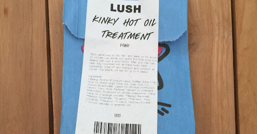 Kinky Hot Oil Treatment From Lush