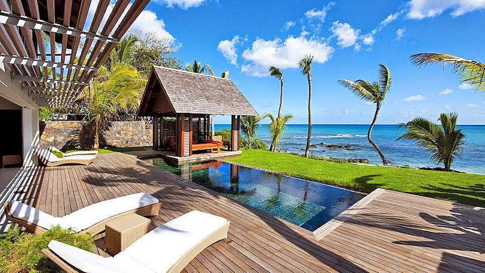 les 10 plus belles maisons avec piscine au bord de la mer. Black Bedroom Furniture Sets. Home Design Ideas