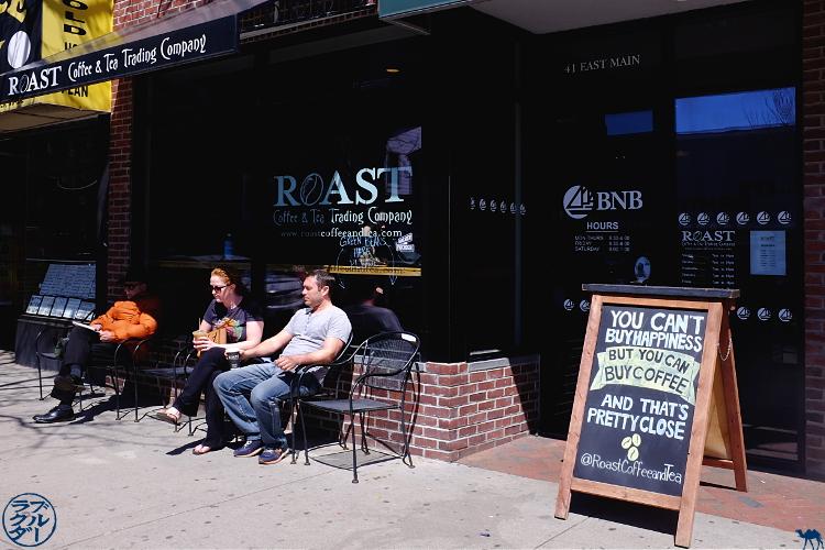 Le Chameau Bleu - Bon Plan Patchogue - Séjour à Long Island New York Roast Coffee and Tea Trading Company
