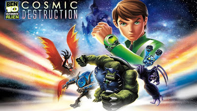 Ben 10 Ultimate Alien Cosmic Destruction PSP ISO For Android