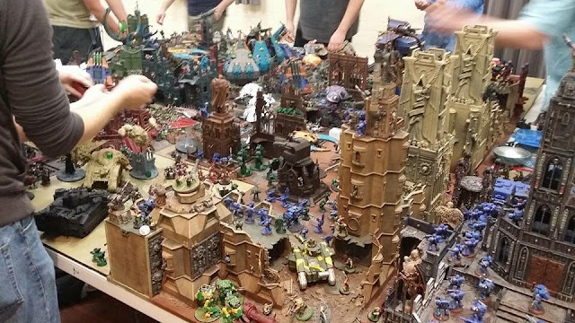 Whats on your table custom space marine army faeit 212 for Table 6 usmc