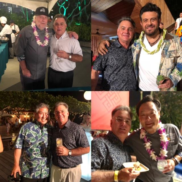 CELEBRITY CHEFS AND A GUY FROM HAWAII