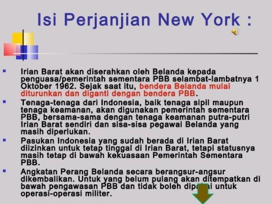 isi perjanjian new york dan sejarah perjanjian new york