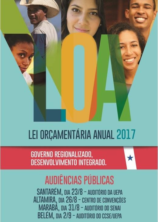 Audiência Pública discute LOA 2017 em Santarém