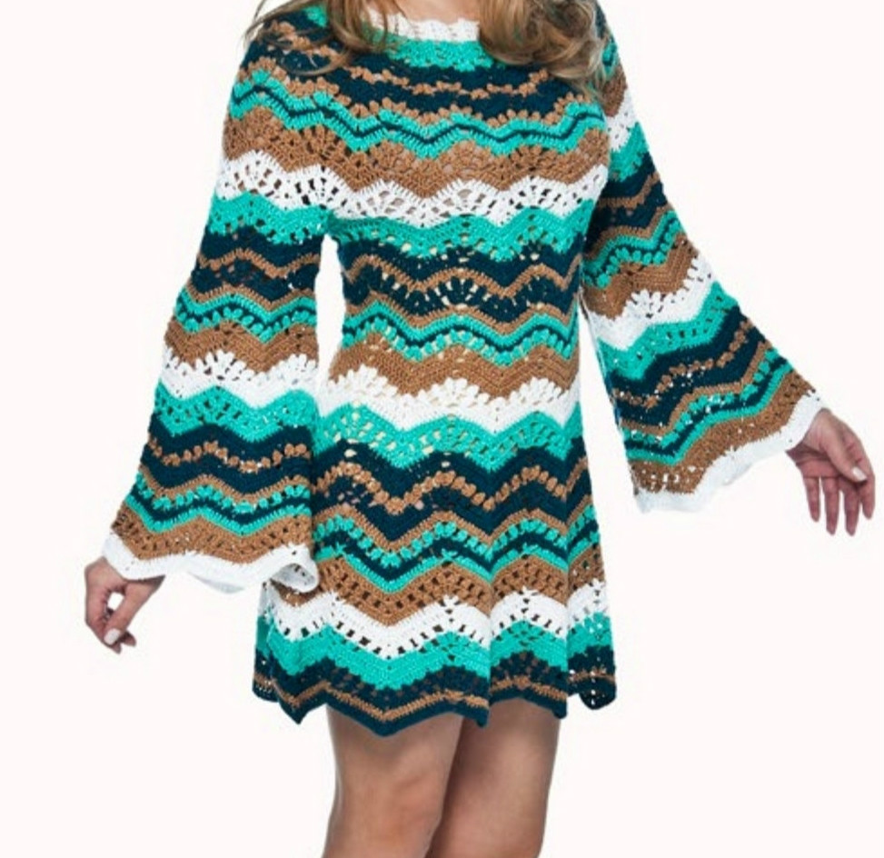 Dress pattern shop with zig zag
