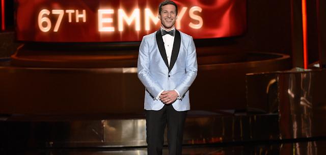 Cea de-a 67-a ediție a premiilor Emmy, a fost găzduită de actorul Andy Samberg