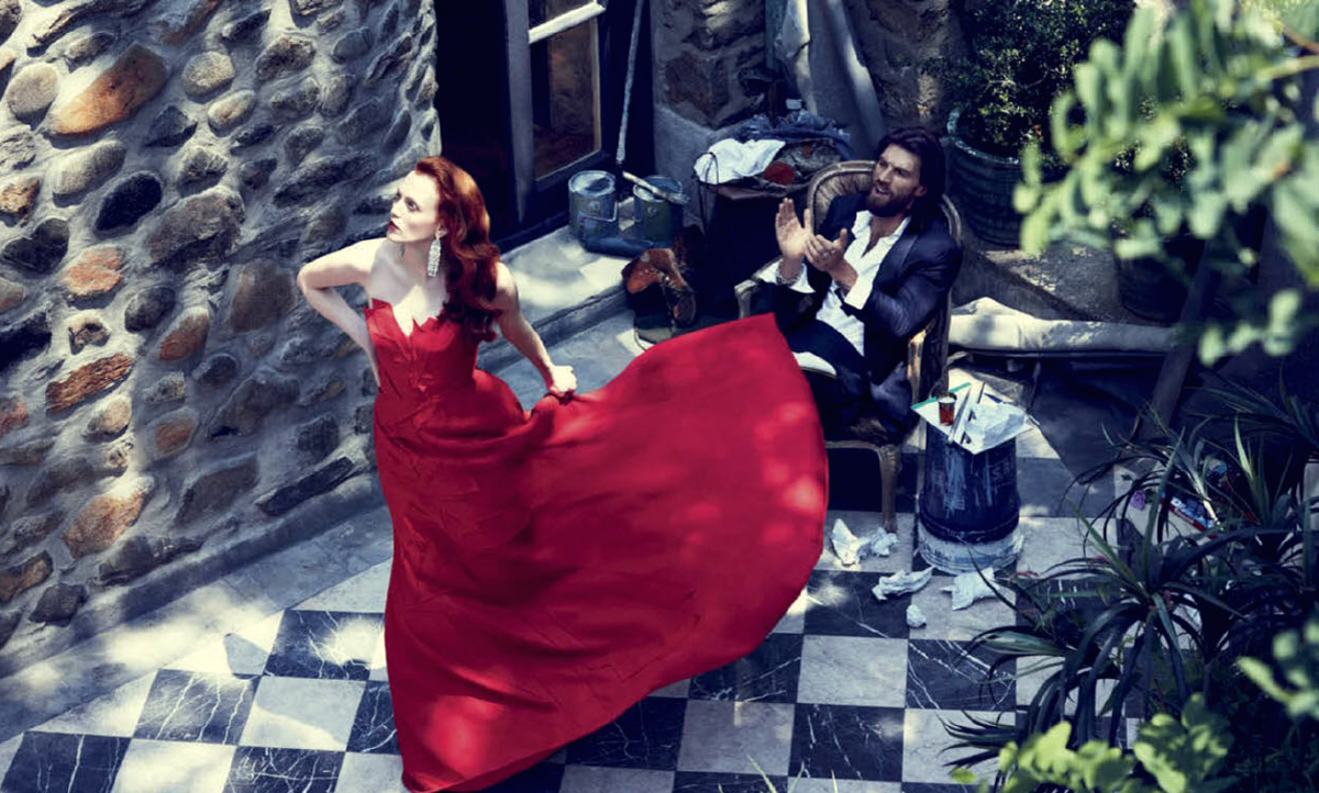 arte seductor: karen elson by alexi lubomirski for vogue mexico october 2014
