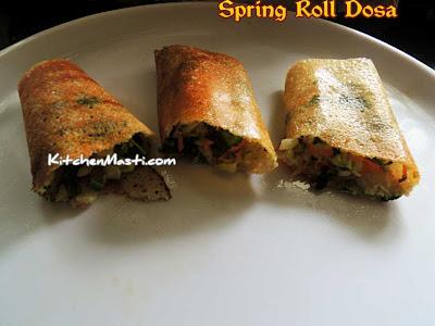 Spring Roll Dosa