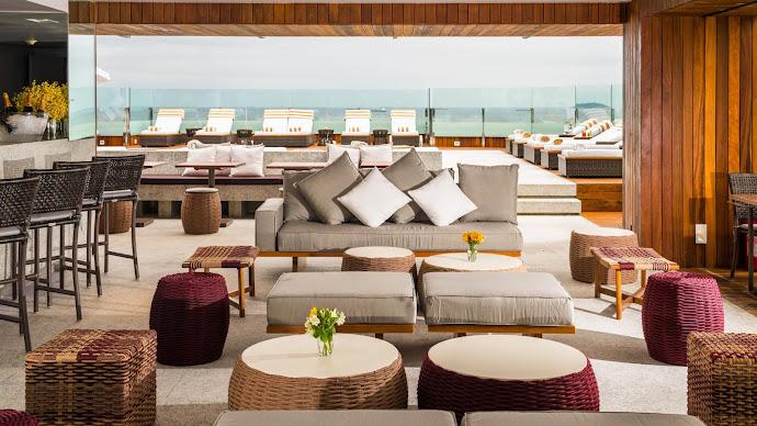 Wallpaper: Hotel Lounge Design