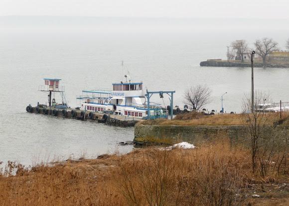 Белгород-Днестровский. Берег лимана