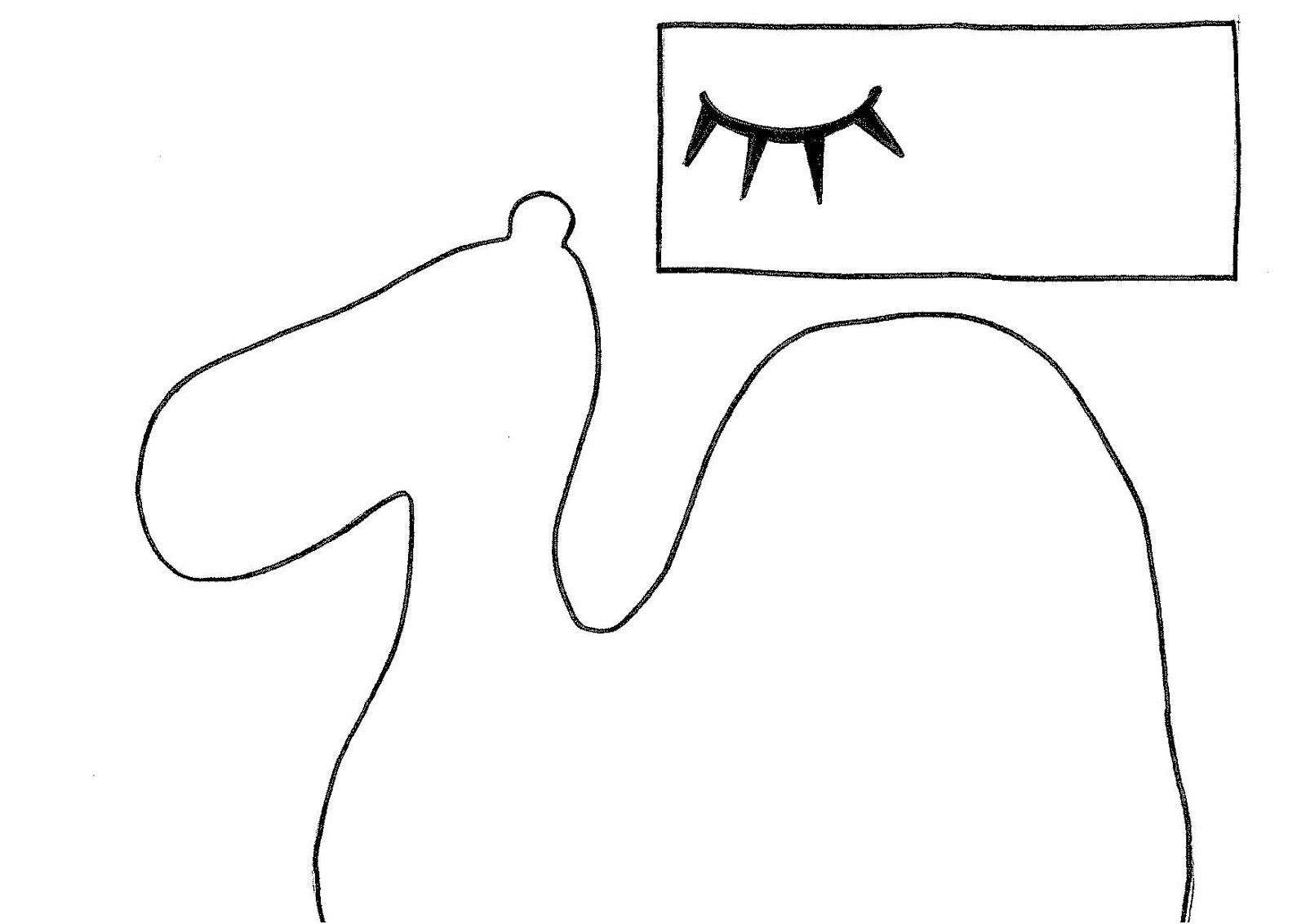 DIY: Felt Camel Hand Puppet