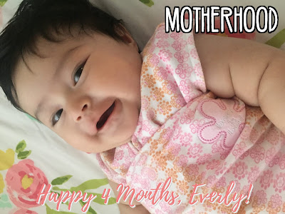Happy 4 Months, Everly