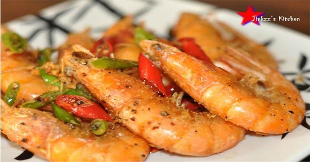 Deep Fried Shrimp With Spicy Salt Recipe