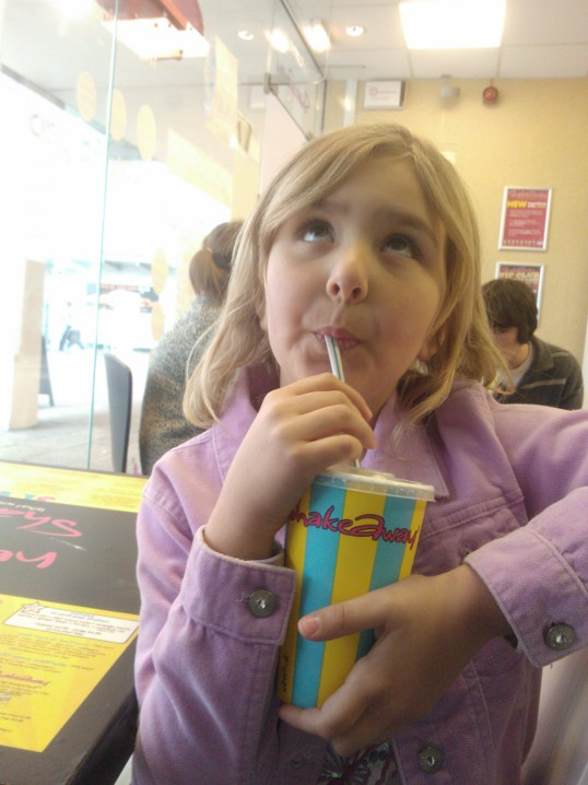 Top Ender having a Shakeaway