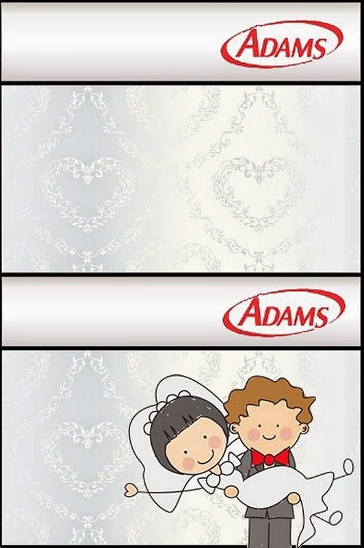 Preferência Novios en Caricatura: Etiquetas de Candy Bar para Imprimir Gratis  AE49