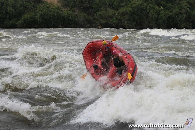 Rafting pe Nil; Jinja, Uganda