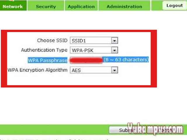 Cara Ganti Password WiFi ZTE Indihome Melalui HP - YuKampus