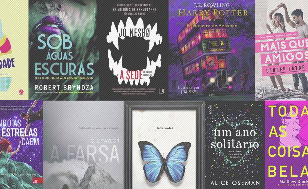 Os lançamentos literários mais legais dos últimos tempos – parte 1: jovem adulto, chick-lit, thriller