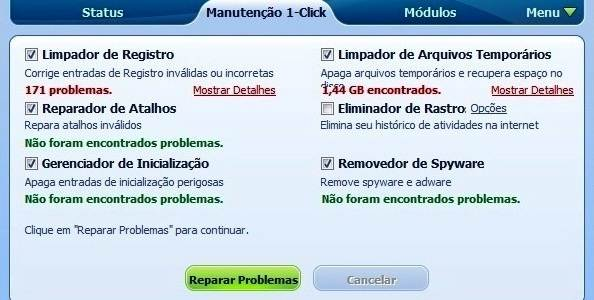 Repararndo problemas do PC com o Glary Utilities